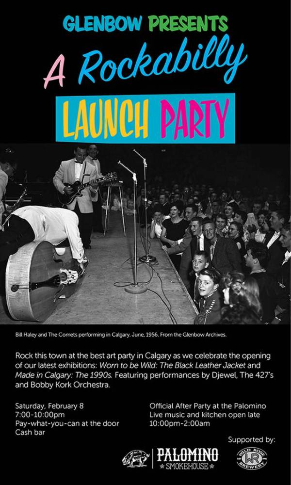 Glenbow Presents: A Rockabilly Launch Party