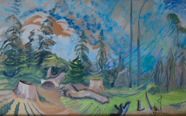 Forest Clearing c1936 wc 21.5x34 web